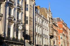 LONDYN, UK: Wiktoriański mieści fasady w podgrodziu Westminister Zdjęcia Royalty Free