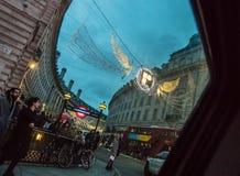 Londyn wciąż życie w Grudniu fotografia royalty free