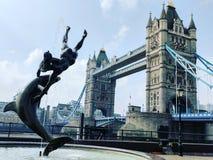 Londyn wierza most Zdjęcie Stock