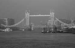 Londyn wierza most Zdjęcia Royalty Free