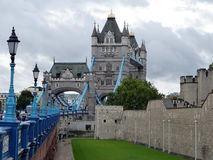 Londyn wierza most Fotografia Royalty Free