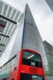 LONDYN, WRZESIEŃ - 24, 2016: Oddolny widok czerepu budynek Ja i fotografia stock
