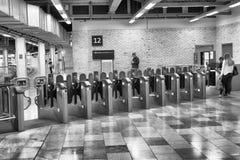LONDYN, WRZESIEŃ - 26, 2016: Miasta metra bramy System 2 Obrazy Royalty Free