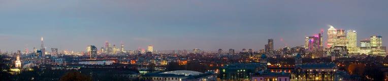 Londyn, wysoka rozdzielczość linia horyzontu Zdjęcia Stock