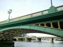 Londyn zieleni most Zdjęcie Stock