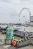 Londyn, Zjednoczone Królestwo †'Sierpień 20: Londyński oko na Sierpień 20, wewnątrz Fotografia Stock
