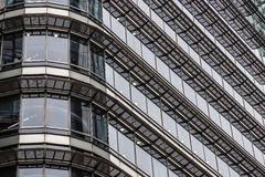 Londyn Zjednoczone Królestwo, Kwiecień, - 06 2017: Canary Wharf jest jeden dwa ważnej dzielnicy biznesu w Londyn _ Obrazy Stock