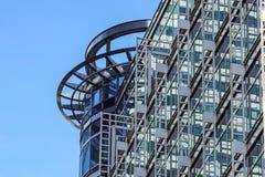 Londyn Zjednoczone Królestwo, Kwiecień, - 06 2017: Canary Wharf jest jeden dwa ważnej dzielnicy biznesu w Londyn _ Fotografia Stock