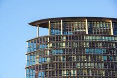 Londyn Zjednoczone Królestwo, Kwiecień, - 06 2017: Canary Wharf jest jeden dwa ważnej dzielnicy biznesu w Londyn _ Zdjęcie Royalty Free