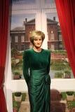 Londyn Zjednoczone Królestwo, Marzec, - 20, 2017: Princess Diana portreta postaci figury woskowej wosku postać przy muzealnym Lon Obraz Royalty Free