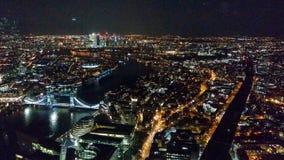 Londyn, Zjednoczone Królestwo/- 03/21/2019: widok od czerepu budynku puszka ulicy Londyn obraz royalty free