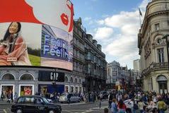 Londyn, Zjednoczone Kr?lestwo, Czerwiec 14 2018 Piccadilly cyrk zdjęcie stock