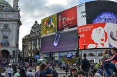 Londyn, Zjednoczone Kr?lestwo, Czerwiec 14 2018 Piccadilly cyrk zdjęcia royalty free