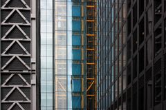 Londyn, Zlany królestwo - Lipiec 2017: Londyńscy budynki podczas dzwi otwarty w London obraz stock