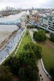 Londyn, Zlany królestwo - Lipiec 2017: Londyńscy budynki podczas dzwi otwarty w London fotografia royalty free