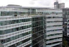 Londyn, Zlany królestwo: Londyńscy budynki fotografia royalty free