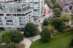 Londyn, Zlany królestwo: Londyńscy budynki zdjęcie stock