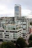 Londyn, Zlany królestwo - 2017: Londyńscy budynki obrazy royalty free