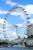 Londyn, Zlany królestwo, widok Londyński oko zdjęcie stock