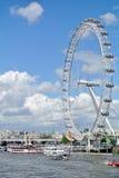 Londyn, Zlany królestwo - widok Londyński oko zdjęcia royalty free