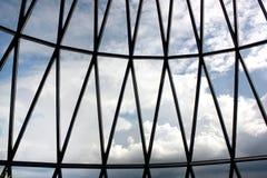 Londyn, Zlany królestwo - Wrzesień 2017: widok korniszonu budynek podczas dnia zdjęcie royalty free