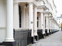 Londyńscy mieszkania Zdjęcia Stock