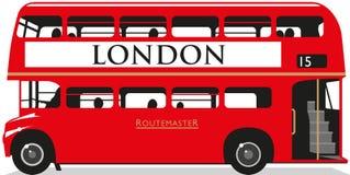 Londyński autobus Zdjęcie Royalty Free