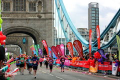 Londyński maraton Zdjęcie Royalty Free