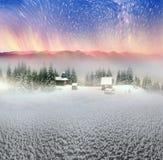 Lone Alpine monastery Royalty Free Stock Images