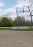 Lone baseball Stock Photography