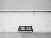 Lone bench Stock Photos