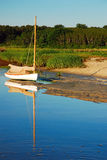 Lone boat Stock Photos