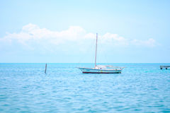 Lone boat Royalty Free Stock Photography