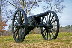 Lone Cannon Stock Image