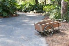 Lone Cart Stock Photo