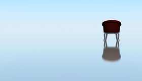 A lone chair waiting Royalty Free Stock Images