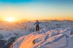 Lone climber Stock Photography