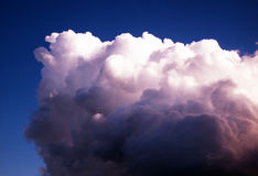 Lone Cloud Stock Photo