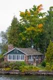 Lone cottage Stock Photos