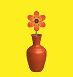 Lone daisy Stock Image