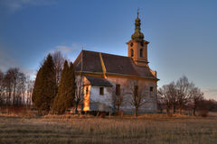 Desolate church Royalty Free Stock Photo