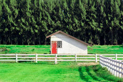 Lone farm house Stock Photography