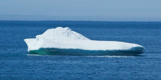 Lone Iceburg in the Ocean Royalty Free Stock Images