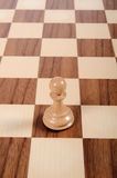 Lone Pawn Royalty Free Stock Images