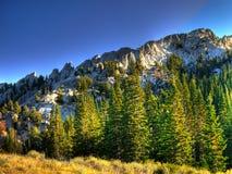 Lone Peak Ridge Stock Photos