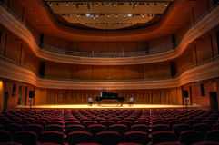 Free Lone Piano Before A Recital Stock Images - 30768144