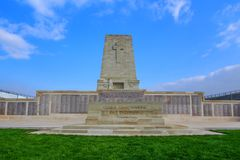 Lone Pine ANZAC Memorial, Gallipoli. Lone Pine Lone Pine ANZAC Memorial at the Gallipoli Battlefields in Turkey Stock Images