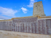 Lone Pine ANZAC Memorial, Gallipoli. Lone Pine Lone Pine ANZAC Memorial at the Gallipoli Battlefields in Turkey Stock Photography