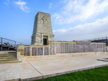 Lone Pine ANZAC Memorial, Gallipoli. Lone Pine Lone Pine ANZAC Memorial at the Gallipoli Battlefields in Turkey Royalty Free Stock Photos