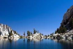 Lone Pine Lake Stock Photo